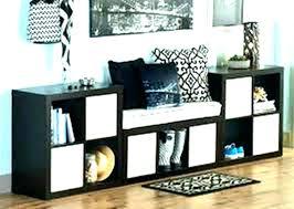 3 cube bench espresso storage charming closetmaid cubicals shoe storag