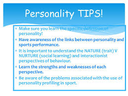 personality lesson of  write an essay to discuss the  10 personality tips