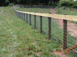 how to install woven wire fence on uneven ground fresh amazing welded wire gate designs electrical