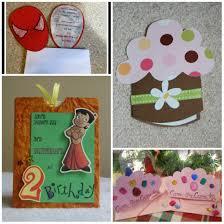 Diy Kids Birthday Card Handmade Birthday Invitation Card Ideas Birthday Party Invitation