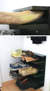 diy shoe rack ideas tutorial floating shoe rack floating shoe rack easy shoe organization ideas for diy shoe rack