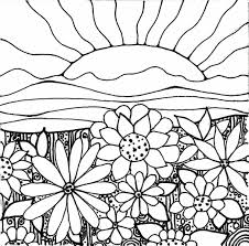Small Picture Kids Flower Daisy Flower Coloring Pages Coloring Pages For Kids