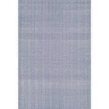 nuloom herringbone cotton navy 5 ft x 8 ft area rug