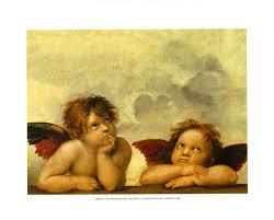 raphael s angels print