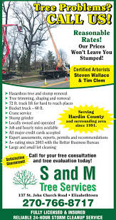call us reasonablerates our swon t leave youstumped certified arboristssteven wallace tim