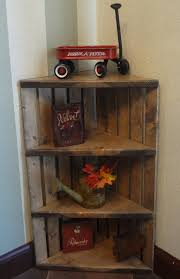 wooden corner shelves furniture. Delighful Shelves Hey I Found This Really Awesome Etsy Listing At  Httpswwwetsycomlisting204812277cratewoodencornershelfrusticgrey With Wooden Corner Shelves Furniture B