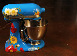 Designer Kitchen Aid Mixers How To Give Your Kitchenaid Mixer A Makeover La Weekly