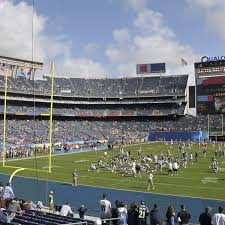 La Chargers Seating Chart Los Angeles Chargers Seating Chart Map Seatgeek