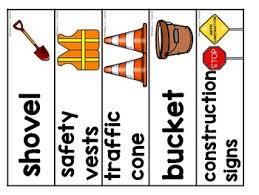 Printable Construction Signs Construction Worker Thematic Printable Pack