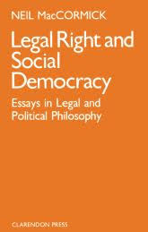 legal right and social democracy essays in legal and political  legal right and social democracy essays in legal and political philosophy