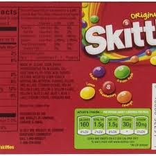 skittles nutrition facts besto regarding skittles food label