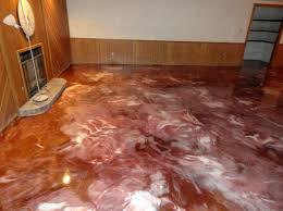 image of nice metallic basement floor