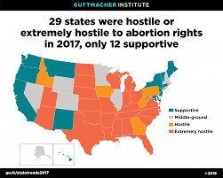 Teens having abortions laws by state