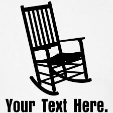 rocking chair silhouette. Rocking Chair Vector Silhouette C