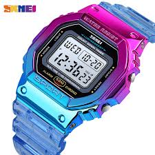 SKMEI 1622 <b>Fashion Cool Girls Watches</b> Electroplated Case ...