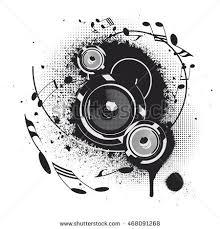 speakers art. pin drawn speakers vector art #8