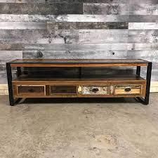 unique industrial furniture. Unique Industrial Wide Screen TV Stand Furniture I