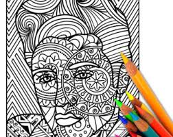 Small Picture Adult coloring page Etsy