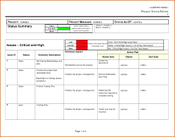 Template Progress Report Template For Projects Project Reporting
