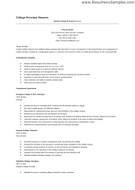 College Resume Example Free Sample College Resumes. Resume Sample