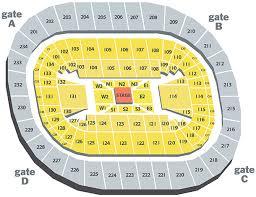 Bryce Jordan Center Seating Chart Wrestling All Inclusive Seating Chart For Bryce Jordan Center 2019