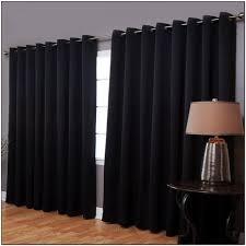 black sheer curtains target
