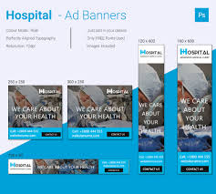 24 banner ad templates sample example format amazing hospital ad banner
