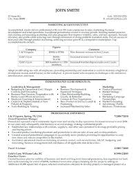 Resume Format For Sales Executive Senior Management Resume Samples ...