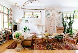 bohemian style living room. Fine Living Adding To The Airy Feel Of Space White Walls In This Light And Bohemian Style Living Room