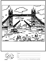 Small Picture Tower of London coloring page Kids Activities Pinterest