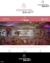 Marquee Website Design Elegant Serious It Company Logo Design For Strawberry