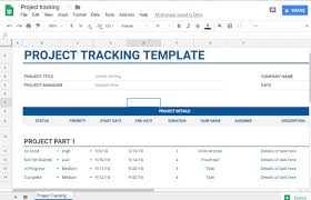 Free Project Tracking Templates 5 Free Project Management Templates For Google Sheets