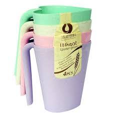Buy Luminarc <b>Set</b> of 4 <b>Wheat</b> Water Glasses With Handle online ...