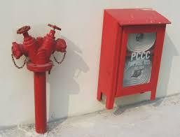 Kết quả hình ảnh cho thiết bị chữa cháy vách tường ngoài nhà