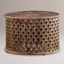 I am nearly finished my coffee table. Tribal Carved Coffee Table World Market Coffee Table Wood Round Wood Coffee Table Coffee Table