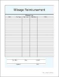 Car Mileage Claim Form Mileage Forms Template Atlasapp Co