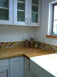 beach glass tile backsplash tiles glass tile with butcher block sink full  size of tile with