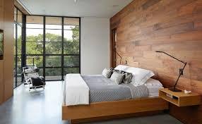 Modern minimalist bedroom furniture Living Room Woodenwallminimalistbedroom Homedit 20 Minimalist Bedrooms For The Modern Stylista