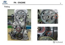 Презентация на тему copyright by hyundai motor company all rights 9 9 pa engine timing