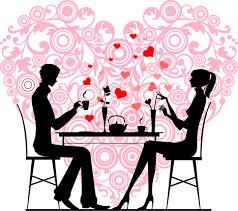 """Résultat de recherche d'images pour """"dessin de couple a table"""""""