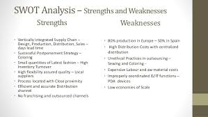 zara final swot analysis opportunities and threats