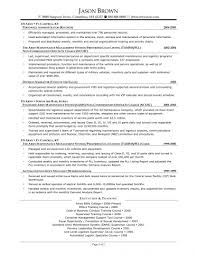 Operations And Sales Manager Resume Warehouse Templates Ret Saneme