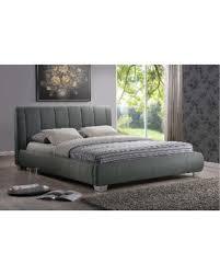 Oliver & James Oliver & James Tacita Grey Queen-size Platform Bed (Queen Size Bed-Grey) from Overstock | BHG.com Shop