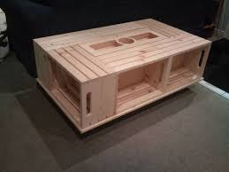 diy crate coffee table woodworking projects plans