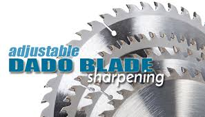 dado blade. adjustable dado blade sharpening o