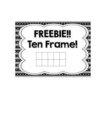 36 printable ten frame templates free template lab