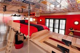 Really Cool Bedrooms For Boys For Modern Unusual Boys Room Design In Secret  Agent Style Kidsomania