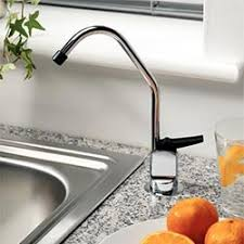 cold water filter faucet. example of long-reach filter faucet installed cold water