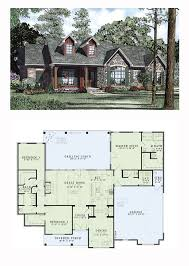 ideas about Ranch House Plans on Pinterest   House plans    Country Craftsman Ranch Traditional House Plan