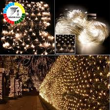Christmas Net Lights Us 10 6 47 Off Coversage 2x3m 4x6m Christmas Garlands Led String Christmas Net Lights Fairy Xmas Party Garden Wedding Decoration Curtain Lights In